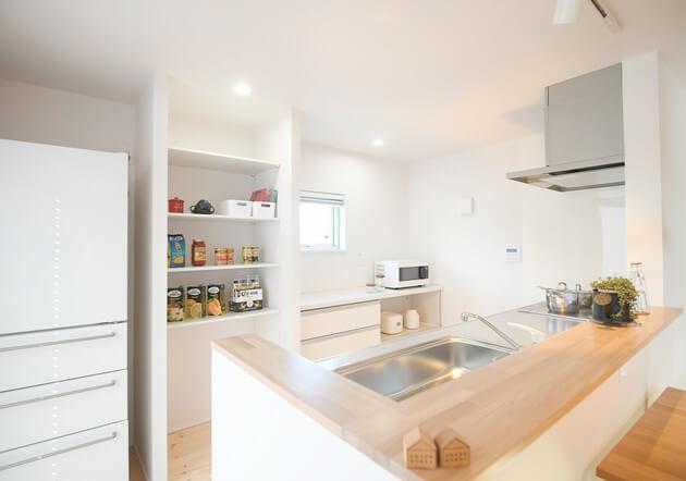 モデルハウス「キッチン」|八戸市の工務店リノベーションならグリーンホームズ