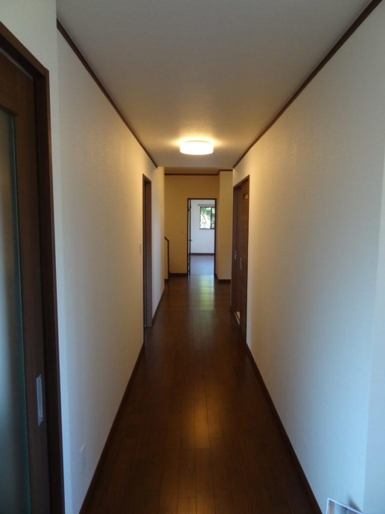 五戸町 W廊下もバリアフリーにリフォーム 八戸市 リフォーム ぐっとリノベ