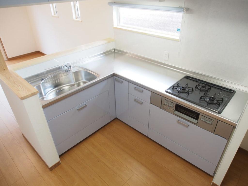 システムキッチン|八戸市 リノベーション|八戸市 工務店