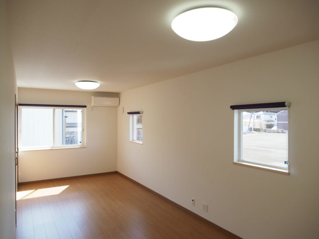 日当たりの良い洋室|八戸市 リノベーション|ぐっとリノベ