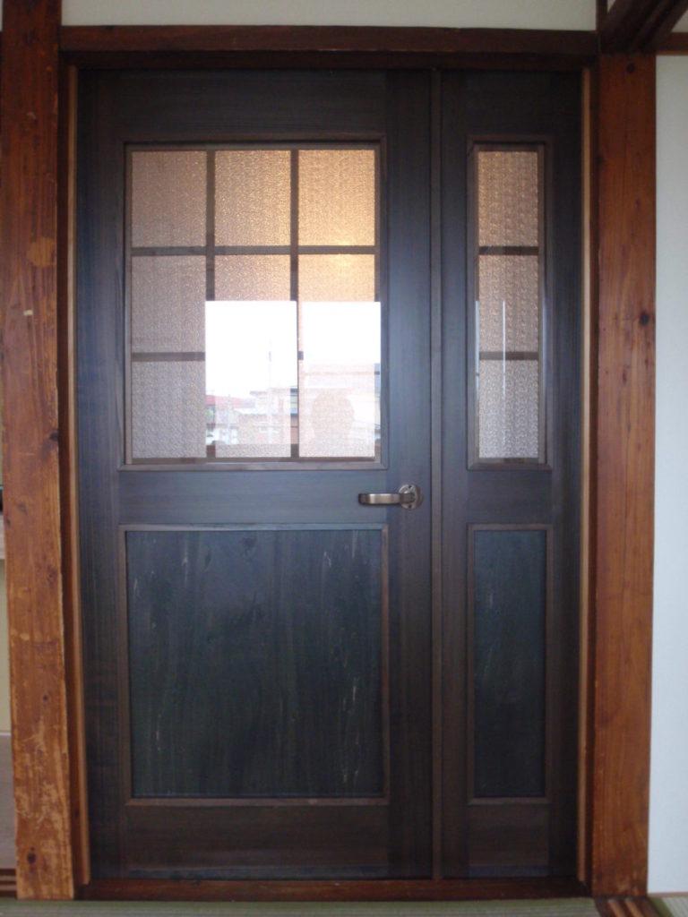 ドアの塗装のリフォーム|八戸市 リフォーム|ぐっとリノベ