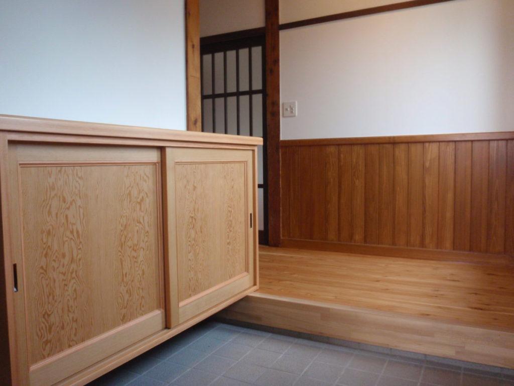 玄関のリフォーム|八戸市 リフォーム|ぐっとリノベ