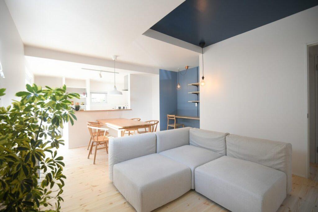 リノベモデルハウスの広いリビング|八戸市 工務店