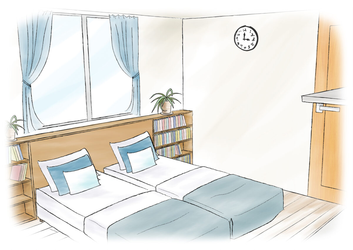 【主寝室】